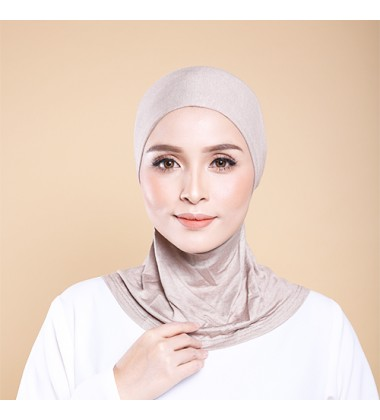 ASMAA Inner Neck with Tieback in Brown