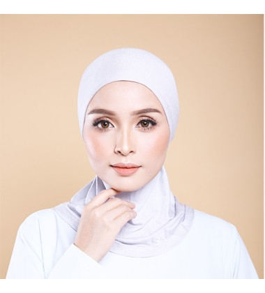 ASMAA Inner Neck with Tieback in Light Grey