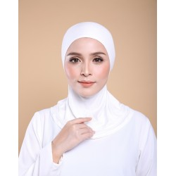 ASMAA Stretchable Inner Neck with Tieback in Off White