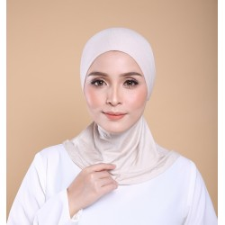 ASMAA Stretchable Inner Neck with Tieback in Nude