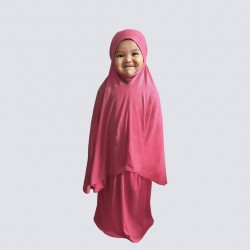 SOLD OUT NAIA KIDS TELEKUNG PLAIN COTTON JERSEY IN DUSKY PINK
