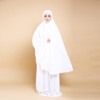 FATIMAH Telekung Set in Off White
