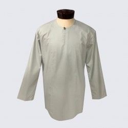 YAQUB COTTON KURTA IN GREY