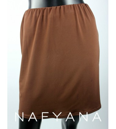 NFY hip inner with stretch band waist in Brown