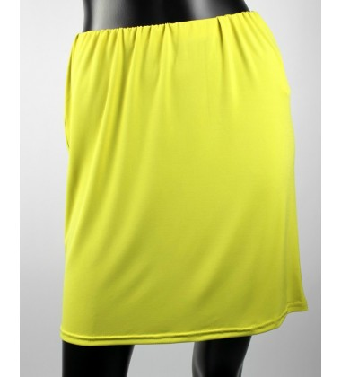 NFY hip inner with stretch band waist in Lime Green
