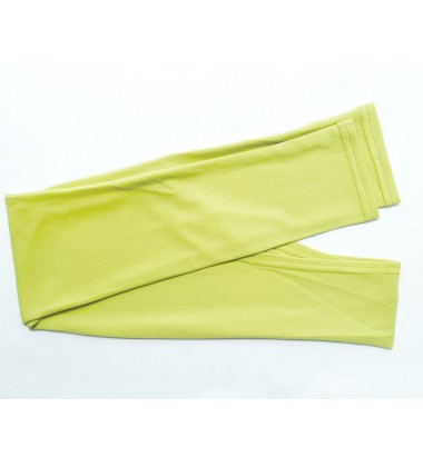 NFY lycra jersey sleeve inner in Lime Green