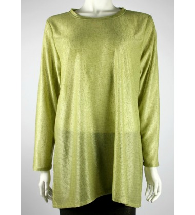 JILLIAN jersey knit top in Green