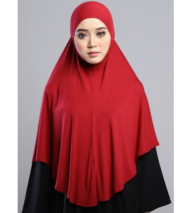 MEDINA Soft Jersey Oversized Tudung in RED
