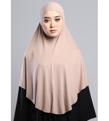 MEDINA Soft Jersey Oversized Tudung in Brown