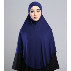 MEDINA Soft Jersey Oversized Tudung in Blue