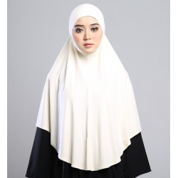 MEDINA Soft Jersey Oversized Tudung in Cream