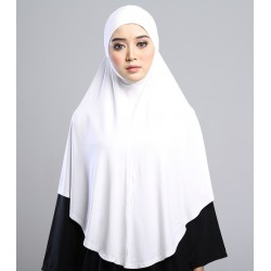 MEDINA Soft Jersey Oversized Tudung in White