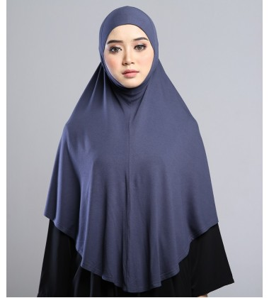 MEDINA Soft Jersey Oversized Tudung in Grey