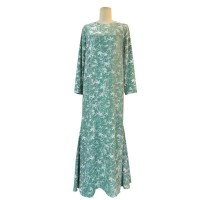 ANYA LOOSE CUT DRESS WITH LINING IN MINT GREEN