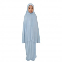NAIA KIDS TELEKUNG PLAIN COTTON JERSEY IN BABY BLUE