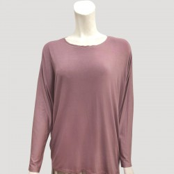 YADIE SOFT PLAIN JERSEY IN PURPLE
