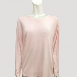 YADIE SOFT PLAIN JERSEY IN PINK