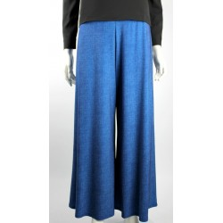 NORYN wide legged pants in Denim Blue