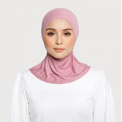 ASMAA Stretchable Inner Neck with Tieback in Dusky Pink