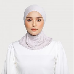 ASMAA Stretchable Inner Neck with Tieback in Grey