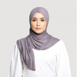 INARA JERSEY SCARF IN GREY