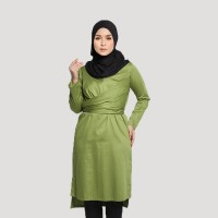 KENDRA LOOSE BODY WRAP IN GREEN