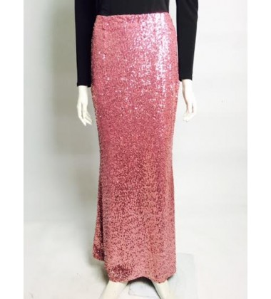 RANI sequin skirt in Pink