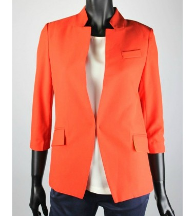 SERAH jacket with collar in Red