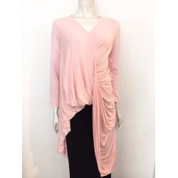 NISRINA JERSEY LONG TOP IN PINK