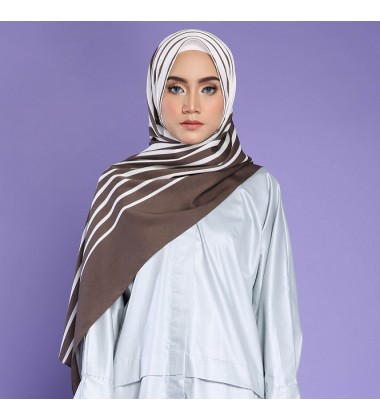 HURI SHAWL IN BROWN