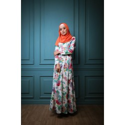 EYRIN Bright Floral Maxi Dress