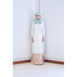 IRINI Shirt Jubah in Light Green