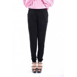 ZEHNA slouchy pants in Black