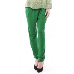 ZEHNA slouchy pants in Green