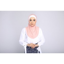 AMANI tudung syria style in Pink