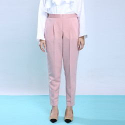 KYLEE slim cut pants in Light Pink