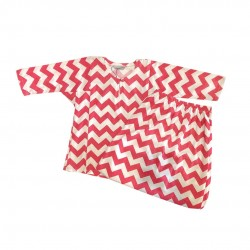 CHEVRON PRINT COTTON JERSEY BAJU KURUNG GIRLS