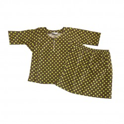 POLKA DOT COTTON JERSEY BAJU KURUNG BABY GIRL