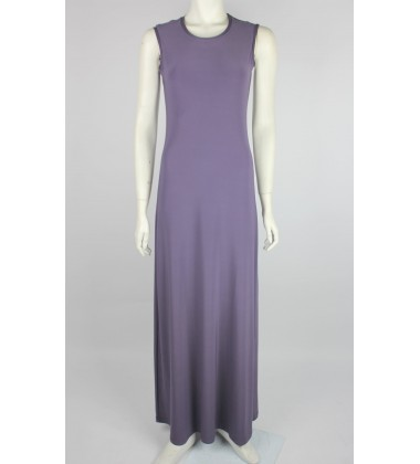 NFY Inner Sleeveless Dress in Dusky Purple