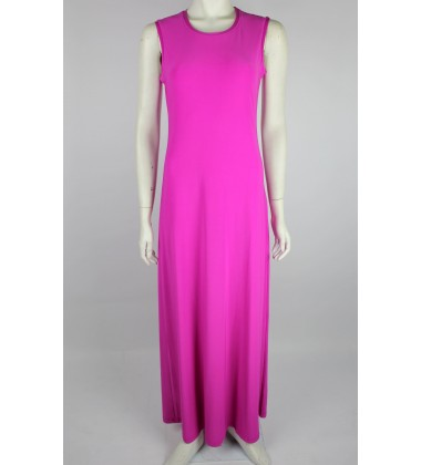 NFY Inner Sleeveless Dress in Fuschia Pink