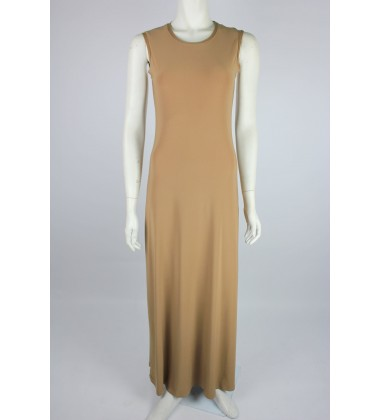 NFY Inner Sleeveless Dress in Chocolate