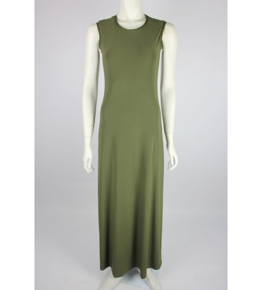 NFY Inner Sleeveless Dress in Army Green