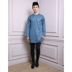 SYAFIQ Kurta in Teal