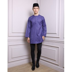 SYAFIQ Kurta in Purple