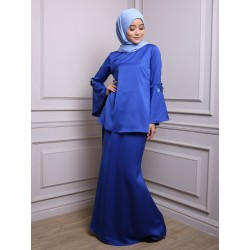 DANEEN Embellished Baju Kurung in Dark Blue