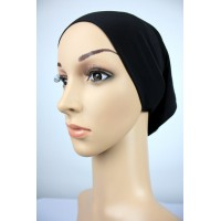 NFY Lycra Jersey Open End Head Inner in Black