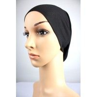 NFY Cotton Jersey Open End Head Inner in Black