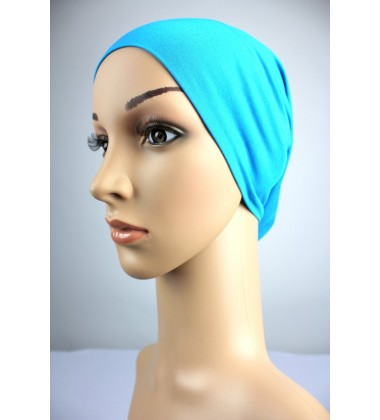 NFY Cotton Jersey Open End Head Inner in Bright Blue