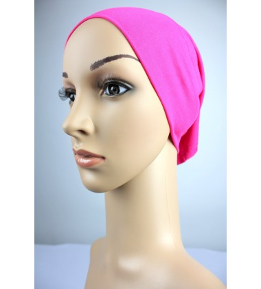 NFY Lycra Jersey Open End Head Inner in Fuschia Pink