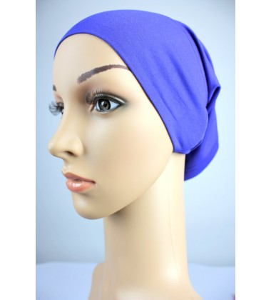 NFY Cotton Jersey Open End Head Inner in Nylon Blue